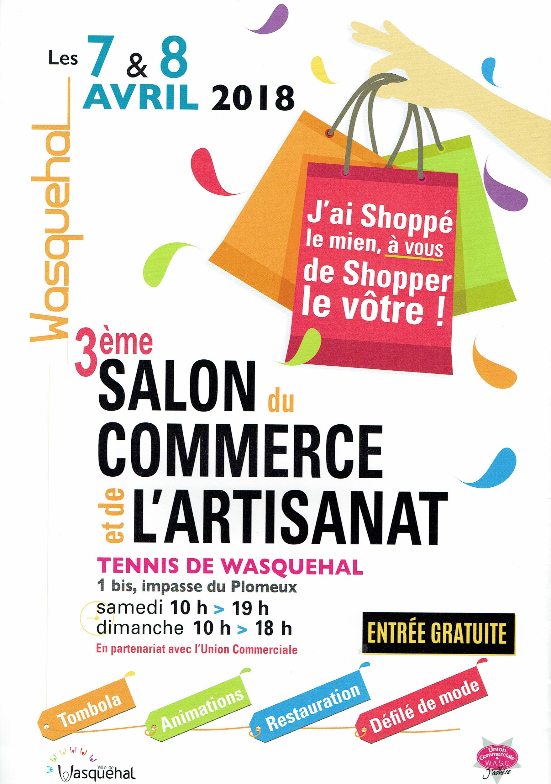 Le salon de ce week-end!